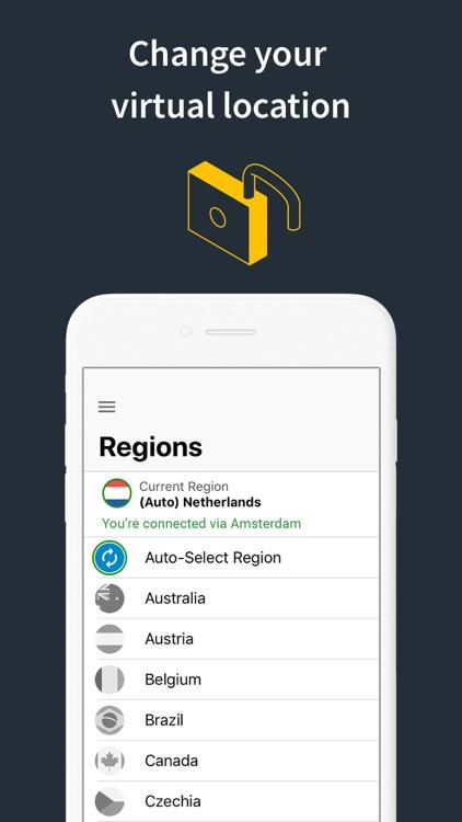 Norton Secure VPN & Proxy VPN screenshot-3