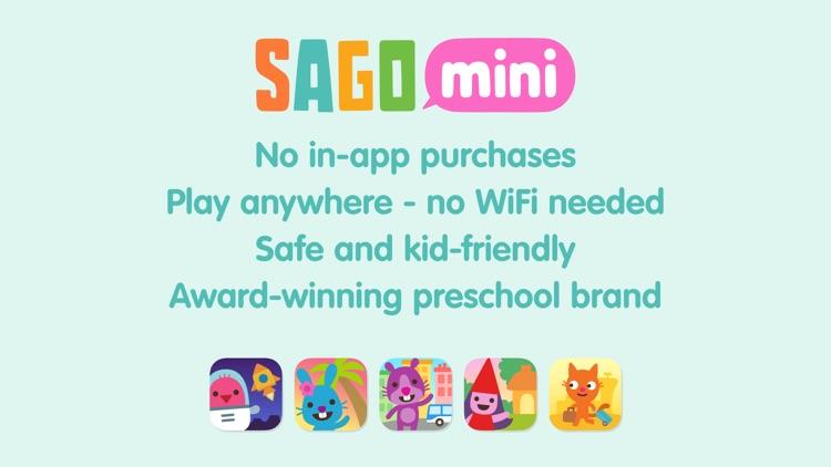Sago Mini Space Blocks screenshot-4