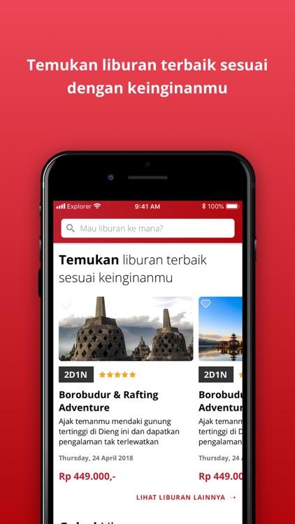Explorer.id - Open Trip App