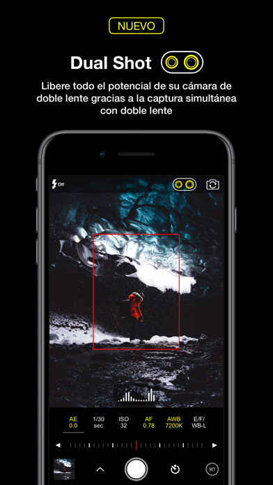 Screenshot for ProCam 6 in Mexico App Store