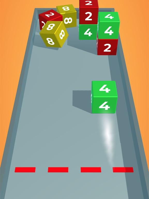Chain Cube: 2048 3D merge game screenshot 8