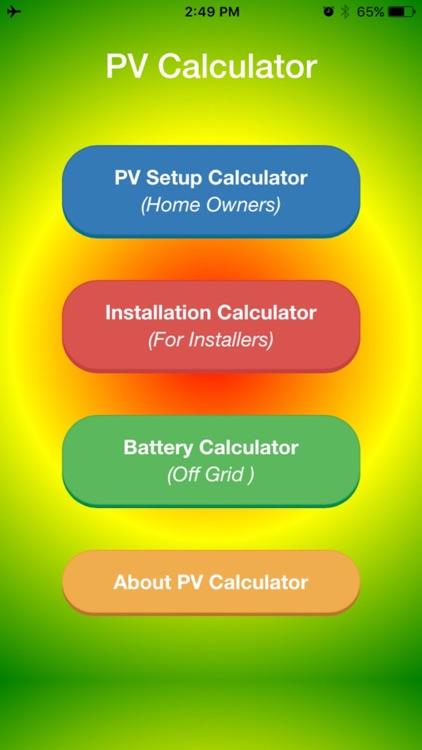 PV Calc