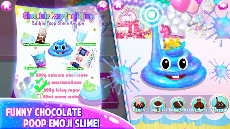 Unicorn Chef: Edible Slime screenshot-3
