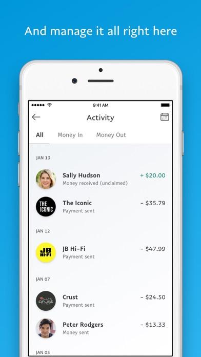 Screenshot for PayPal in Australia App Store