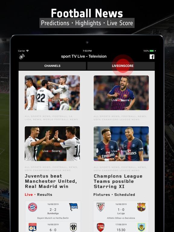 sport TV Live - Sport Television Channels screenshot