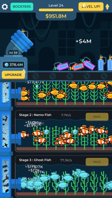 Idle Fish Aquarium screenshot 4