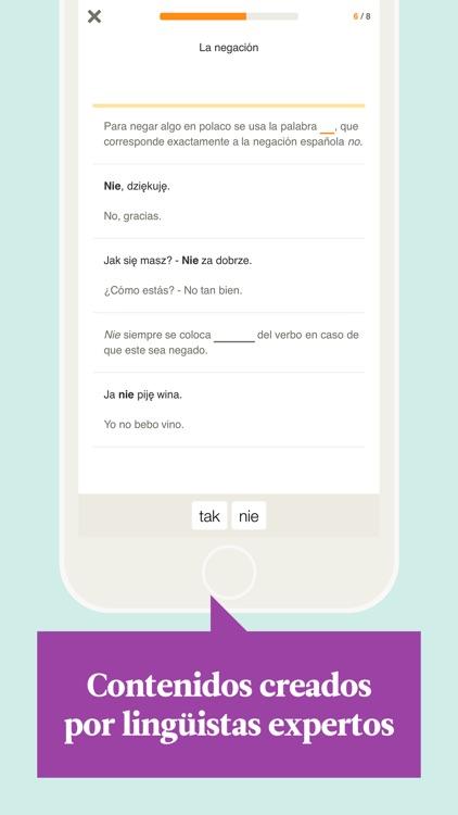 Babbel – Aprender polaco screenshot-3