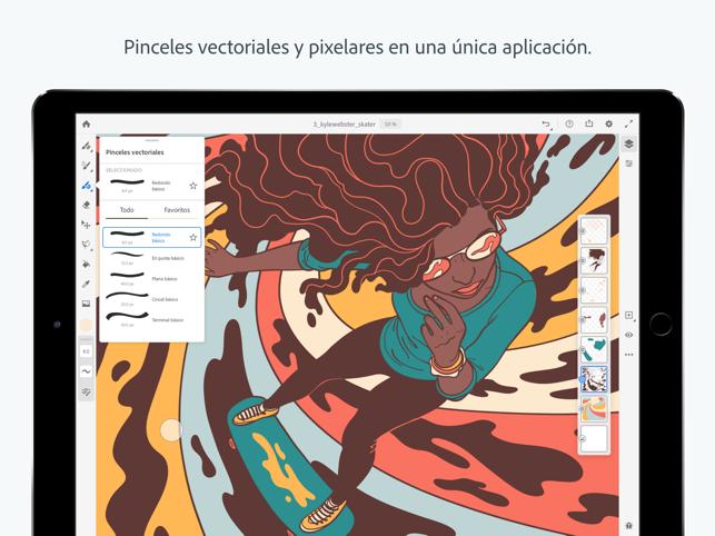Adobe Fresco Dibujo Y Pintura En App Store