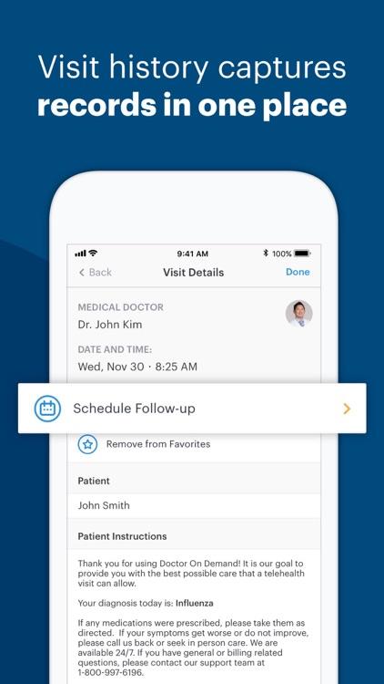 Doctor On Demand screenshot-8