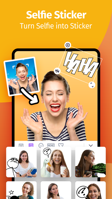 Selfiemoji - Cartoon Maker Screenshot