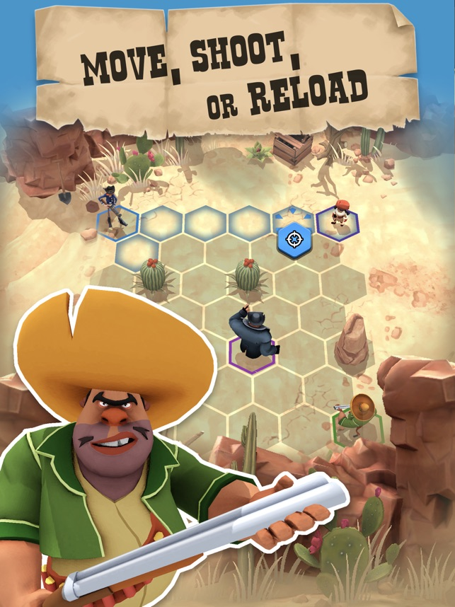 Pocket Cowboys Screenshot