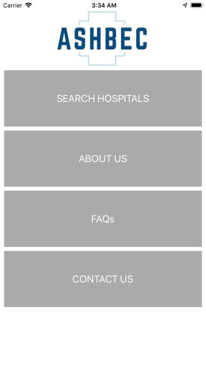 Ashbec Hospital Safety Rating screenshot-3