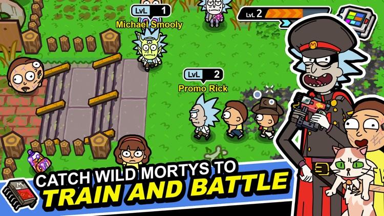 Rick and Morty: Pocket Mortys screenshot-0