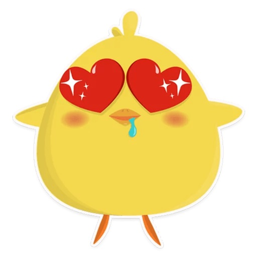 Chicky chick - chicken emoji icon