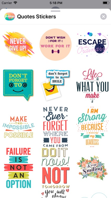 Quotes: Motivational Stickers screenshot-8