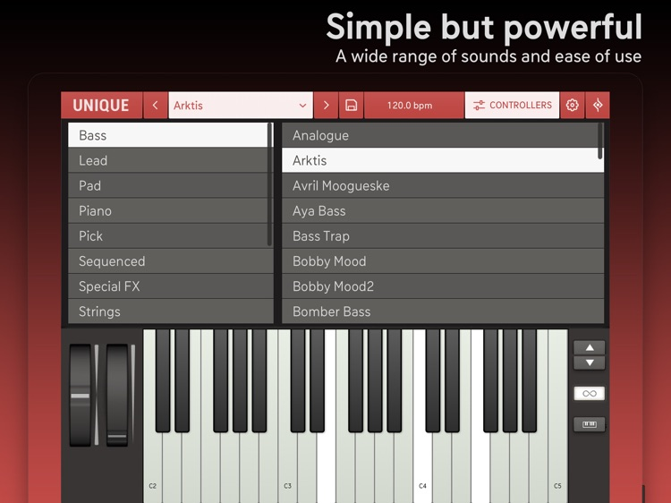 Unique for iPad - Analog Synth screenshot-3