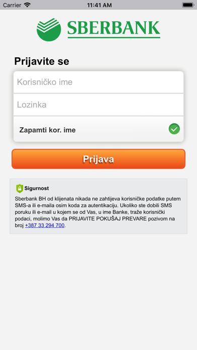 Sberbank Mobile Banking screenshot one