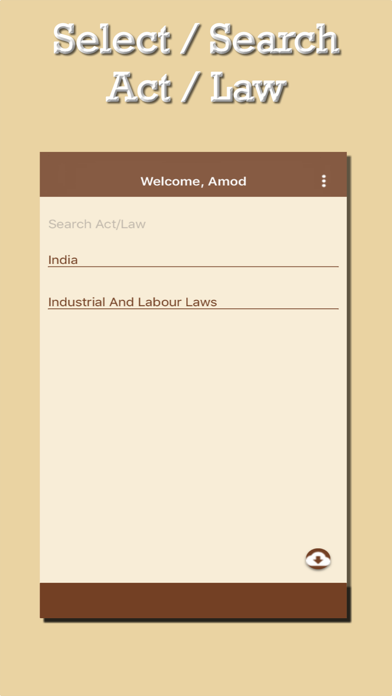 Law-App screenshot two