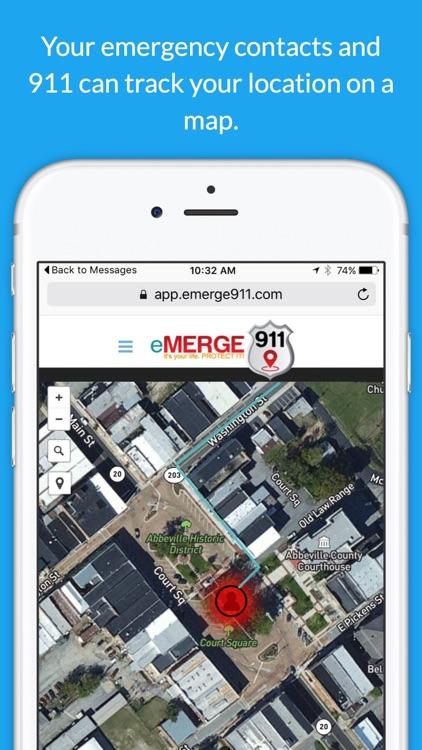 eMERGE 911 screenshot-3