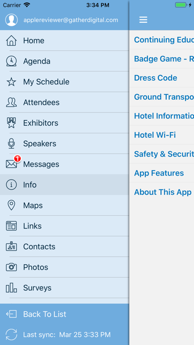 AJG Meetings screenshot three