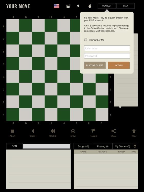 Your Move for iPad