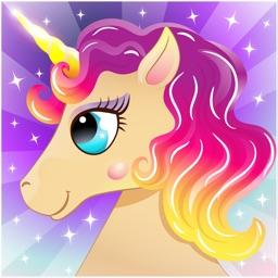 Pony unicorn games for kids