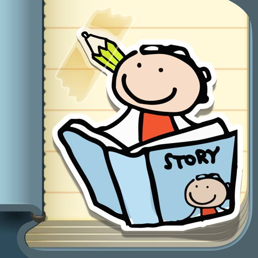 Kid in Story Book Maker