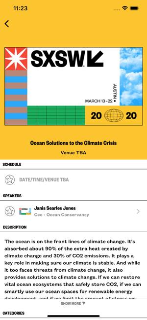 SXSW sesso app