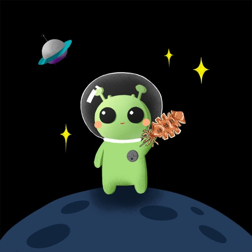 Alien Math and Food