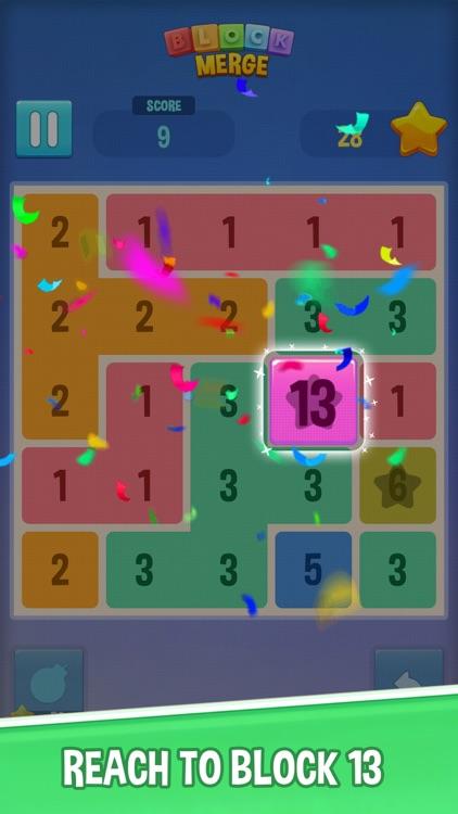 Merge Block - Number Up 13 screenshot-3