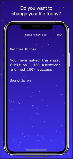 Magic 8 bit 8 ball on the App Store