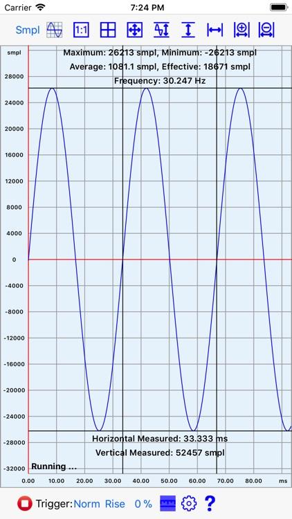 Mobile Oscilloscope screenshot-4