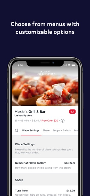 SkipTheDishes - Food Delivery on the App Store