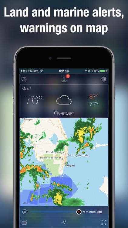 Weather Radar NOAA Rain Map + screenshot-3