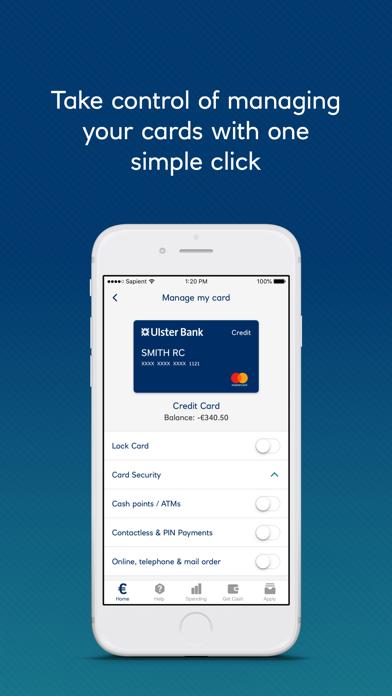 Ulster Bank RI Mobile Banking screenshot three