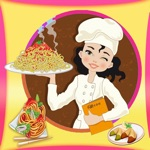 Princess Cooking Chinese Food.