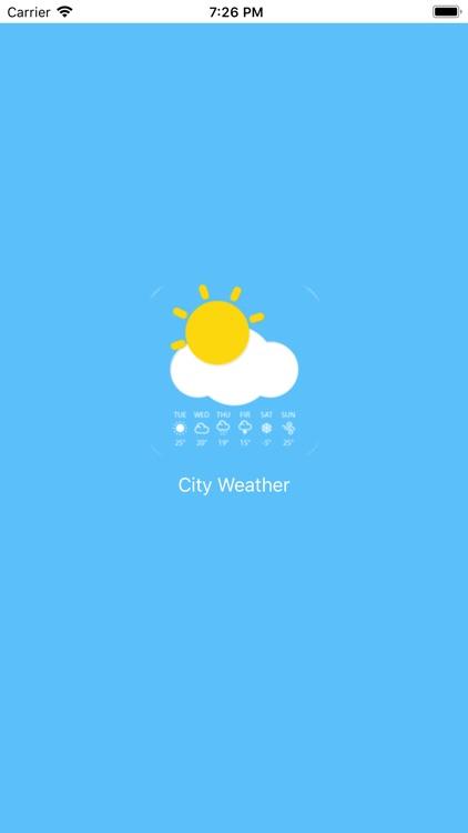 City Weather Forecasts screenshot-3
