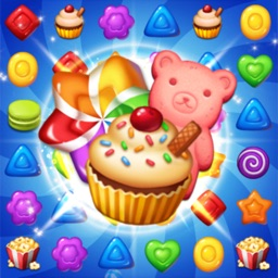 Sweet Candy POP Match 3 Puzzle