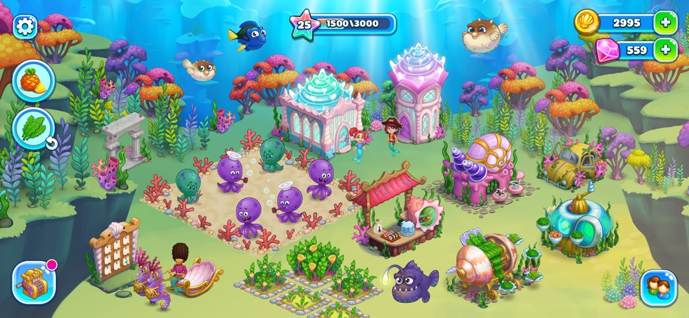 Aquarium Farm: mermaid story hack tool