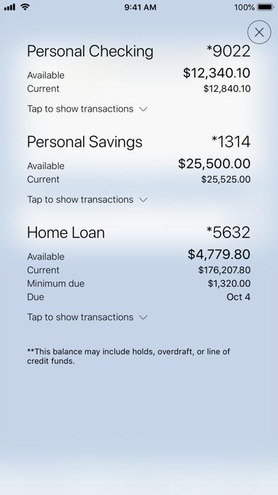 Evansville FCU Mobile BankingScreenshot of 1