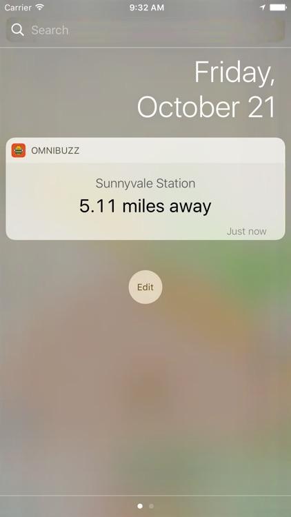 OmniBuzz - Bus Alarm