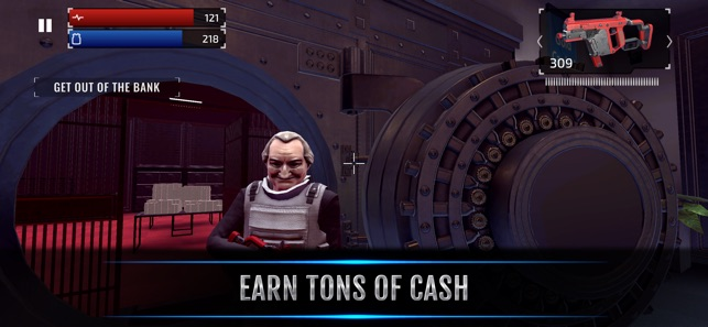 ‎Armed Heist: Bank Robbing TPS Screenshot