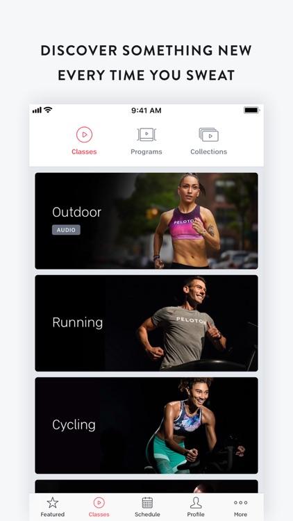 Peloton — Live workout classes screenshot-0