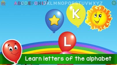 Kids Balloon Pop Language Gameのおすすめ画像3