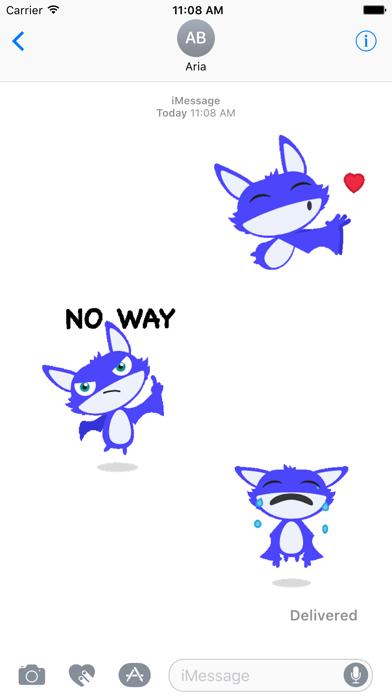 Animated Little Bat Sticker screenshot 1