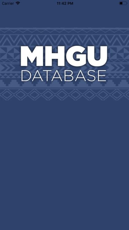 MHGU Database