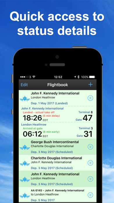 Screenshot for Vlucht Tracker flight radar Pr in Netherlands App Store