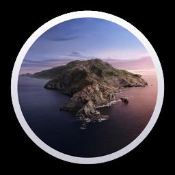 Ícone do app macOS Catalina