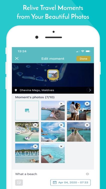 Trippi: Tell Your Travel Story screenshot-3