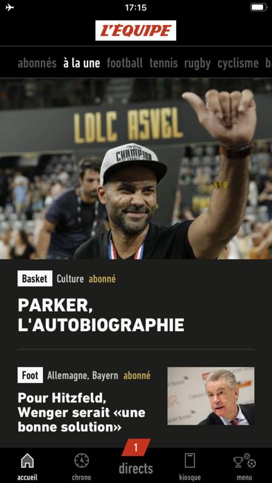 L'EQUIPE, sports en direct sur pc